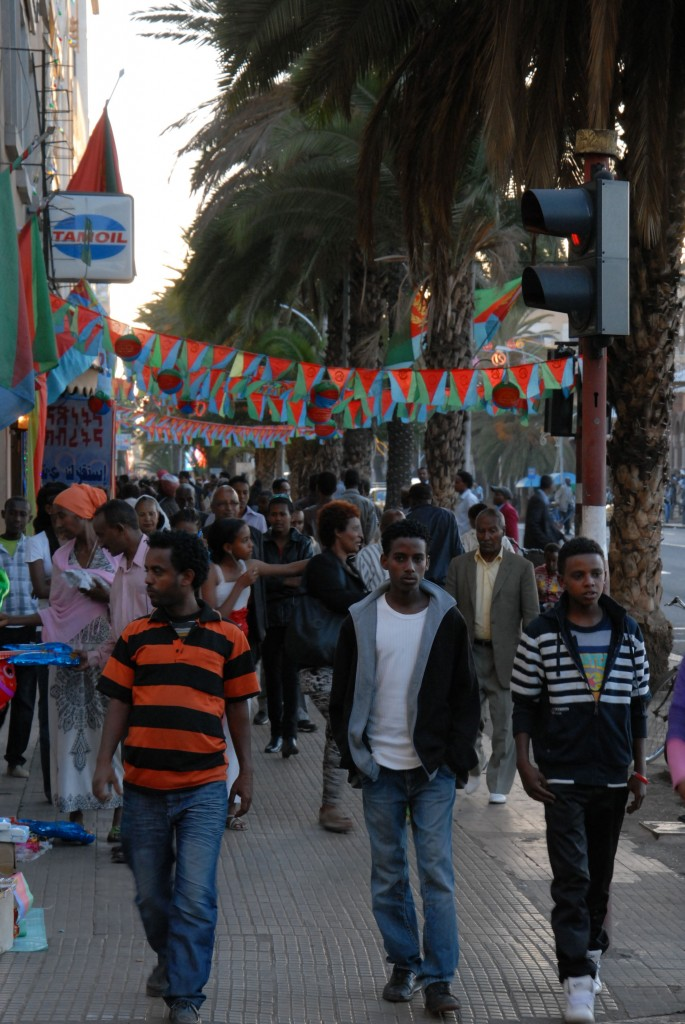 © Michele Pignataro, Asmara, Harnet Avenue