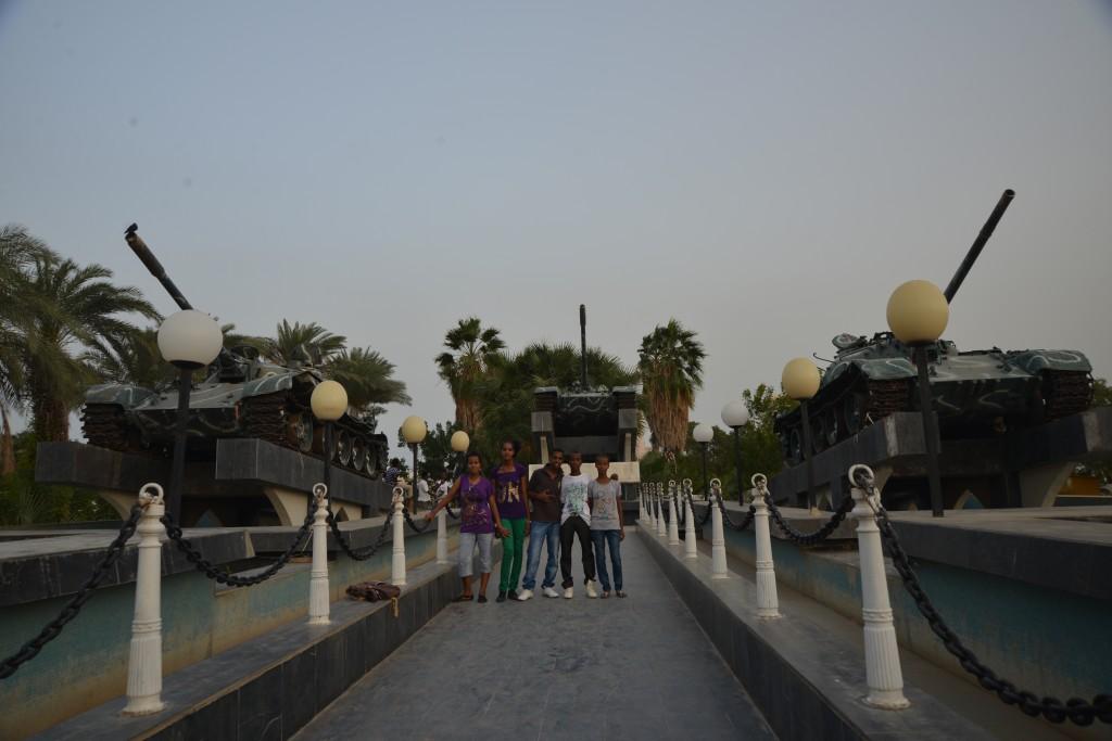 Michele Pignataro, Massawa, i carri armati, simbolo della liberazione della città