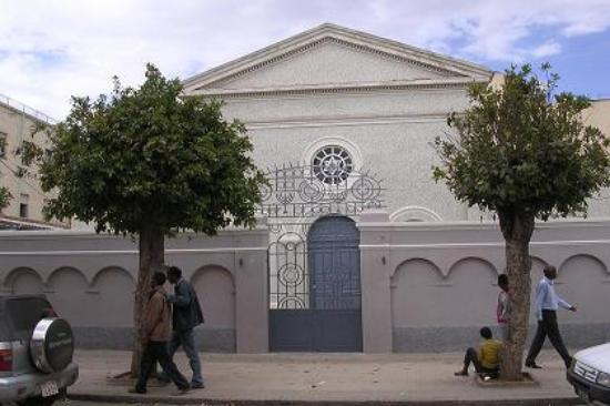 Vincenzo Meleca, Asmara, Sinagoga