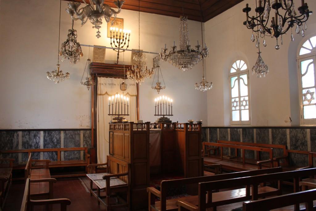 Sinagoga-interno