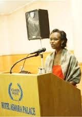 Christine Umutoni, UNDP, Asmara