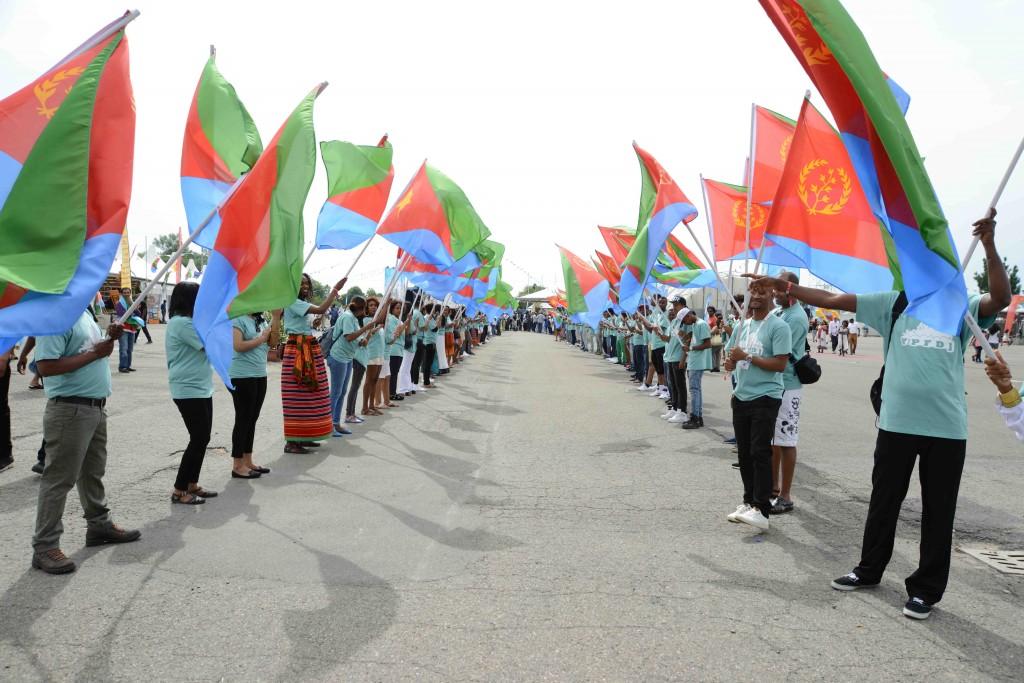 © Veg Video, Bologna, inizio del Festival d'Eritrea 2014