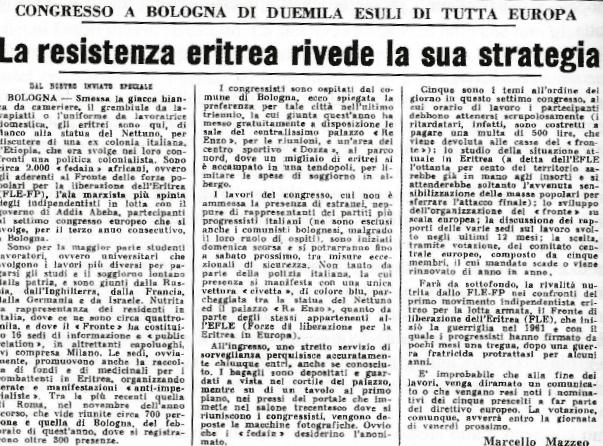 Corriere della Sera, 1976