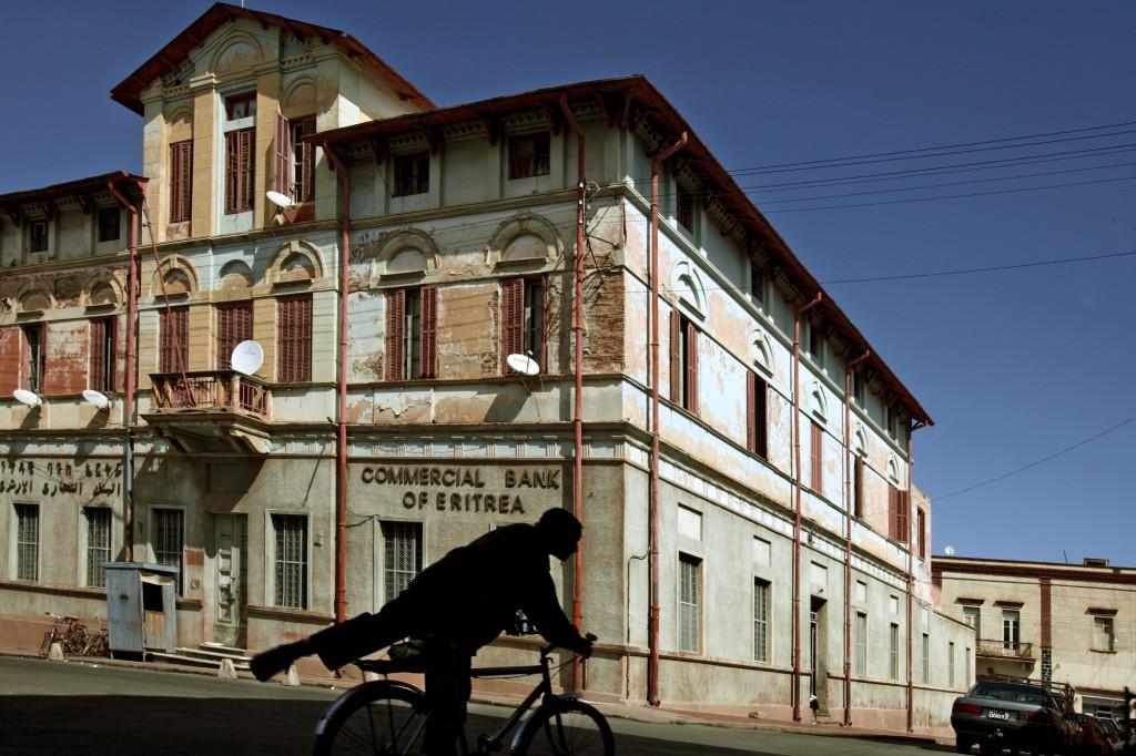 Bruno Zanzottera, Asmara, centro città, Commercial Bank of Eritrea