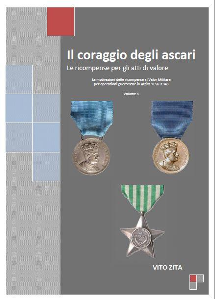 Cover Il coraggio degli ascari di Vito Zita
