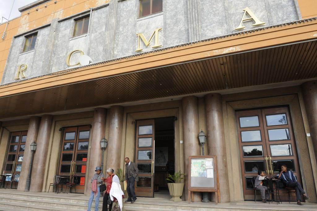 Antonio Politano, Asmara, Cinema Roma, un simbolo della città