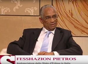Africa Oggi, Settesera, (7 Gold) Interview with the Embassador Fesshazion Pietros
