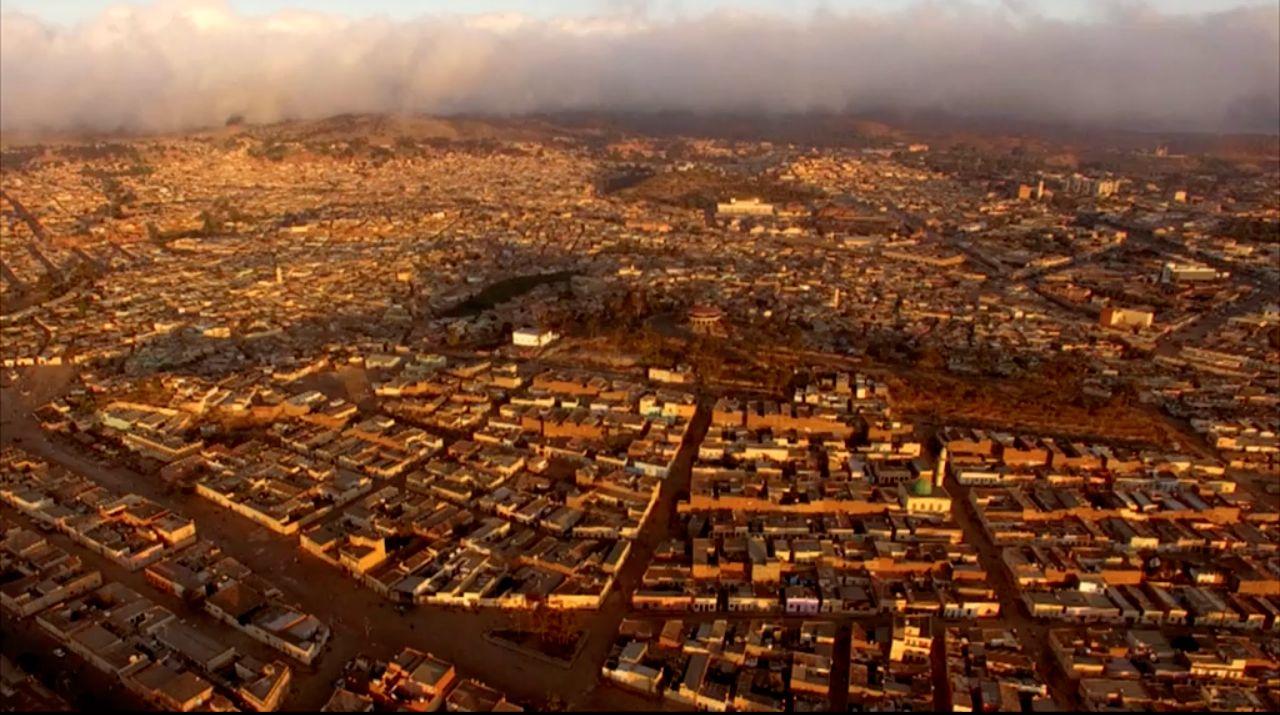 Eritrea, la capitale Asmara vista dall'alto