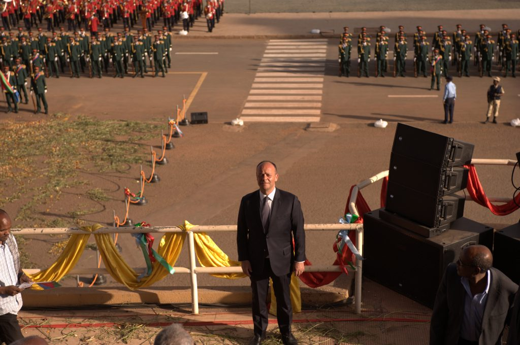 Eritrea, Asmara, Senator Aldo Di Biagio, Independence Day 2016