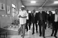 Asmara, Eritrea, Vittorio Sgarbi ad Expo2019 con il presidente Isaias Afwerki il